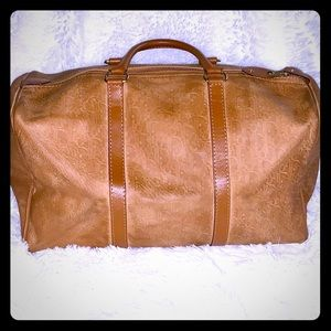 Authentic Vintage Christian Dior Luggage bag